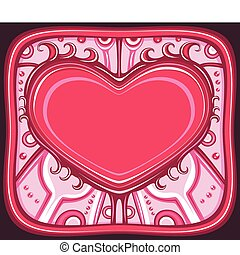 The Valentine\'s day frame