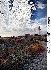 Evening shores of Mediterranean - Evening shores of the...