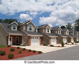baixo, renda, aposentadoria, condomínios, ou, Com