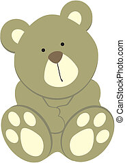 teddy bear03 - teddy bear in vector format