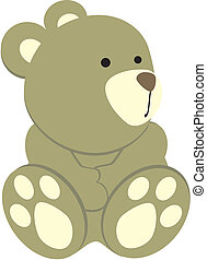 teddy bear3 - teddy bear in vector format