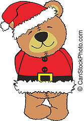 teddy claus5 - teddy claus in vector format