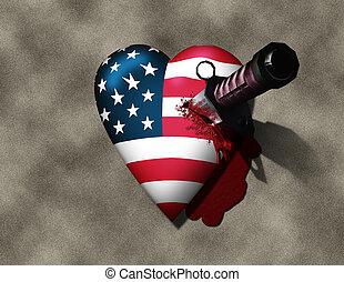 EUA, magoado