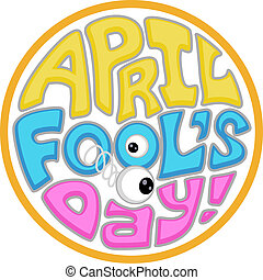 April Fool's Day Icon - Illustration with an April Fool's...