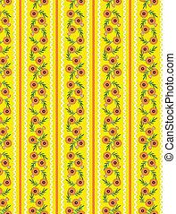 Vector Eps10 Yellow Wallpaper