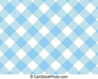 JPG Woven Blue Gingham - Jpg. Woven blue and white gingham...