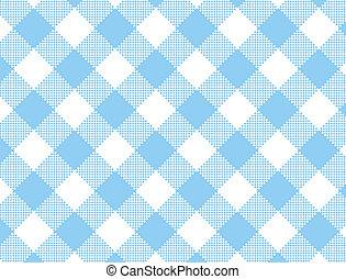 JPG Woven Blue Gingham - Jpg. Woven blue and white gingham...