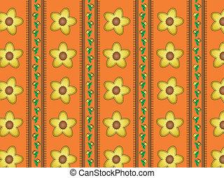 Vector Eps 10 Orange Wallpaper