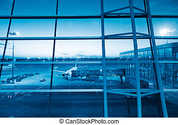 airport - apron of beijing airport