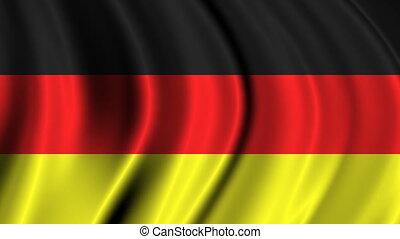 Germany Flag Footage