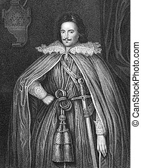 Edward Herbert, 1st Baron Herbert of Chirbury 1583-1648 on...
