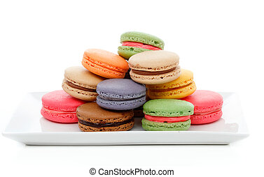 French Macaroons - Delicious French macaroons in assorted...