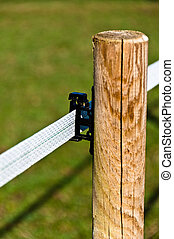 Electrified Fence For Livestock - Details of an electrified...