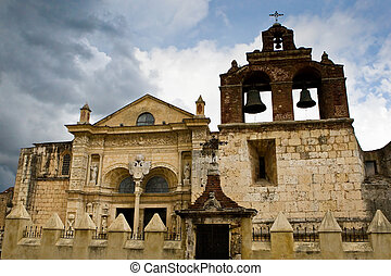 Old Church in Santo Domingo Dominican Republic
