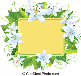 Easter frame, perfect for greeting cards or retail signage
