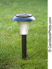 Garden solar powered light