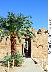 famouse karnak temple in Luxor Egypt