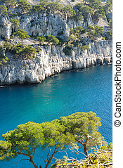 Calanques of Cassis, France - The famous Calanques of...