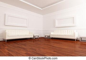 White waiting room