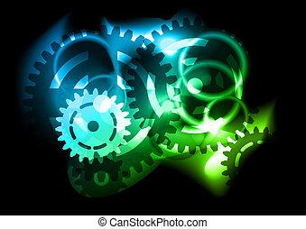 flashing gear