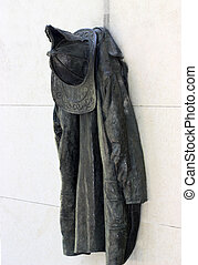 Firefighter's Uniform - Sculpture of firefighter's uniform...