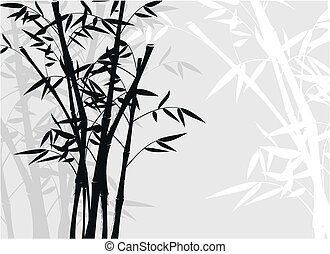 bamboo background01 - bamboo background in vector format