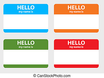 Name card - Hello my name card