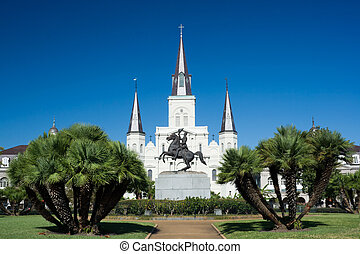 Saint Louis Cathedral - Jackson Square and Saint Louis...
