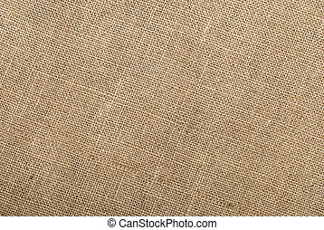 Sackcloth material background