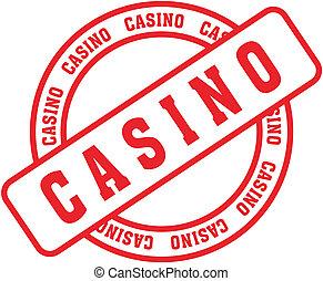 casino word stamp9