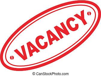 vacancy word stamp2 - vacancy word stamp in vector format