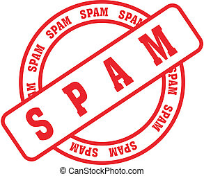 spam word stamp