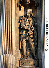 Voltaire - Statue of the famous French philosopher Voltaire...
