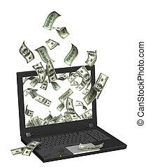 ganancias,  internet
