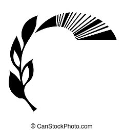 vector ornament on white background