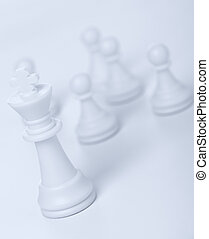 Chess figure - king