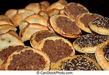 Lebanese Traditional Snack Food - An assortment of Lebanese...