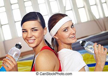 Refreshing girls
