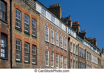 Terraces - A terrace in the east end of London