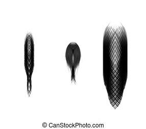 Set hair