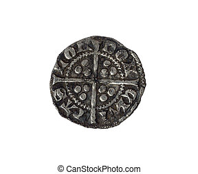 Hammered Silver Penny Edward I - Hammered long cross silver...