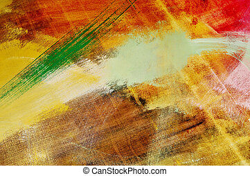 colors background - brushstrokes of different colors on a...