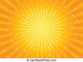 Vector burst illustration - Vector burst background -...
