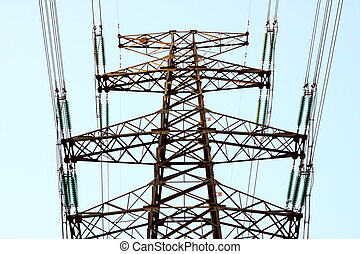high tension wires