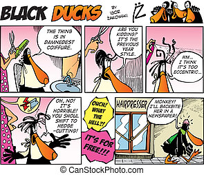 Black Ducks Comics episode 9 - Black Ducks Comic Strip...
