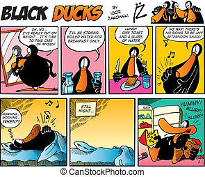 Black Ducks Comics episode 7 - Black Ducks Comic Strip...