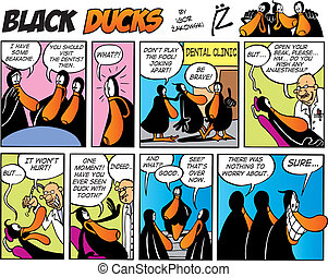 Black Ducks Comics episode 3 - Black Ducks Comic Strip...