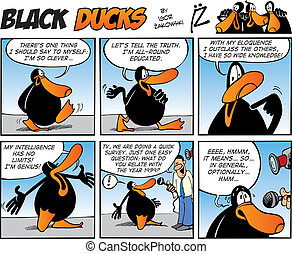 Black Ducks Comics episode 18 - Black Ducks Comic Strip...