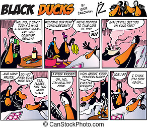 Black Ducks Comics episode 19 - Black Ducks Comic Strip...