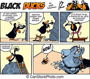 Black Ducks Comics episode 14 - Black Ducks Comic Strip...